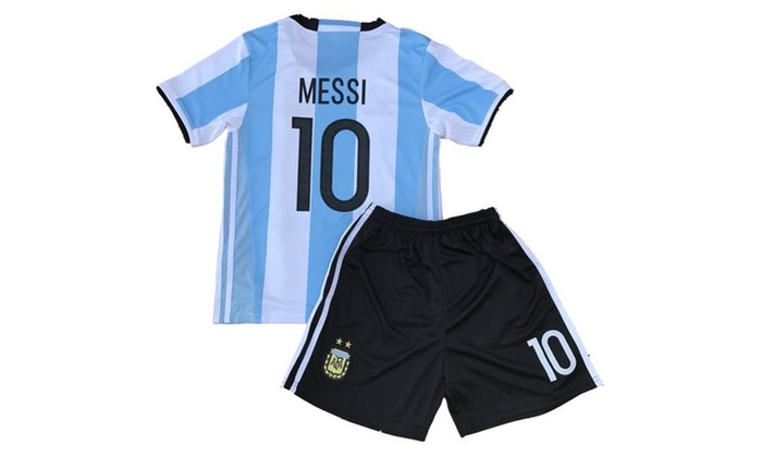 los angeles 34c24 abaf3 Messi Jersey Qualifiers Argentina Soccer Jersey Youth