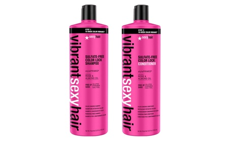 Vibrant Sexy Hair Sulfate-Free Color Lock Shampoo and Conditioner 33.8 15104494-4c07-4645-8145-712caa3d1414