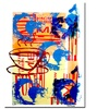 Lazaro Amaral 'Abstract VI' Canvas Art