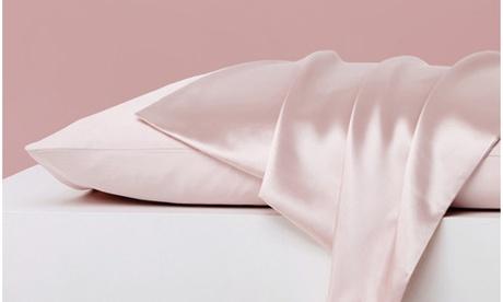 Luxurious Satin Anti-Acne Facial and Hair Care Pillowcase (1- or 2-Piece)