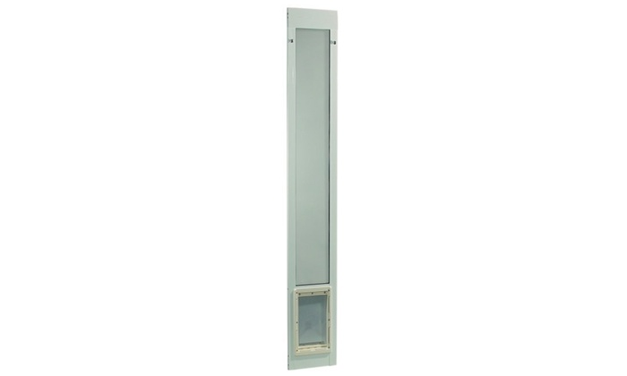 ... Ideal Pet Products IPP-75PATSLW Fast Fit Pet Patio Door - Super Large White Fram  sc 1 st  Groupon & Up To 12% Off on Ideal Pet Products IPP-75PATS... | Groupon Goods