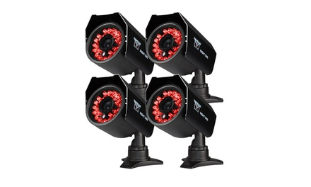 Night Owl Security 4PK Hi-Res Cameras (Refurbished)