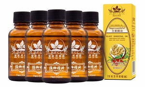 5 Bottles PURE Plant Therapy Lymphatic Drainage Ginger Oil