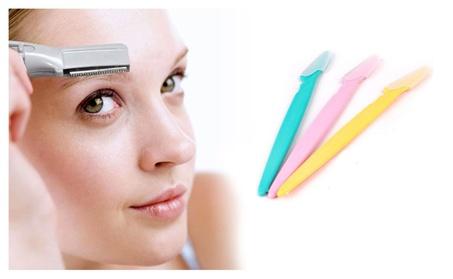 Premium 3 In1 Stainless Steel Blades Eyebrow Razor Bikini Line Trimmer 3e129962-b31f-4067-8194-d1193c8d5f55