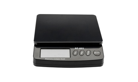 30KG/1G LCD 5 Digits Postal Scale Kitchen Scale Black