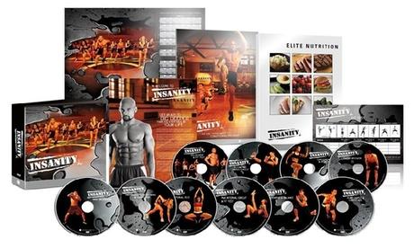 Insanity 60 Day Fitness Workout Program Base Kit Complete Dvd Set