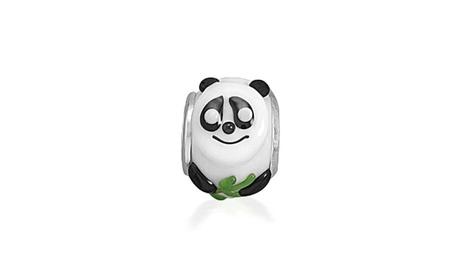 Bling Jewelry Sterling Silver Panda Bear Glass Animal Bead 6f7b31a5-23fc-441f-89b0-233114b34263