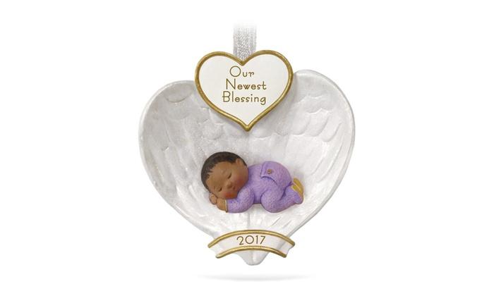Hallmark Our First Christmas Ornament.Hallmark Keepsake African American Baby S First Christmas Ornament