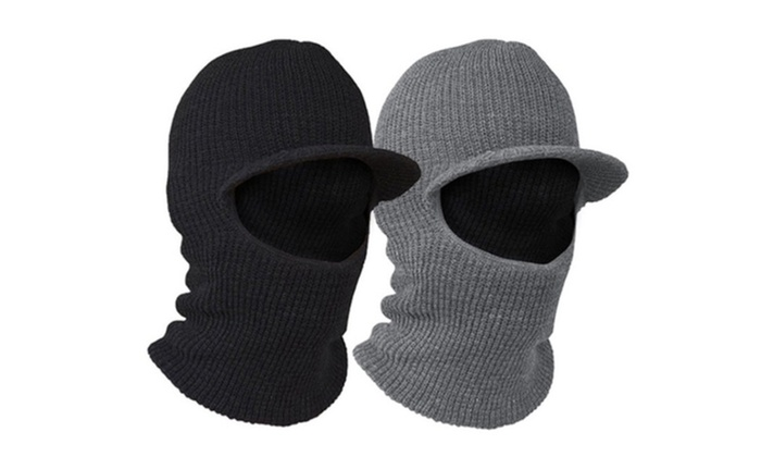 2-in-1 Cold Weather Face Mask and Snuggle Hat 1, 3 or 5 Packs
