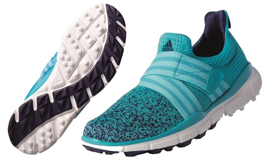 Adidas Women's ClimaCool Knit Spikeless Golf Shoes