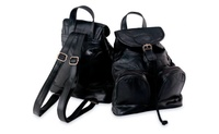 Maxam Genuine Leather Backpack & Purse for the woman (UnbeatableSale) photo