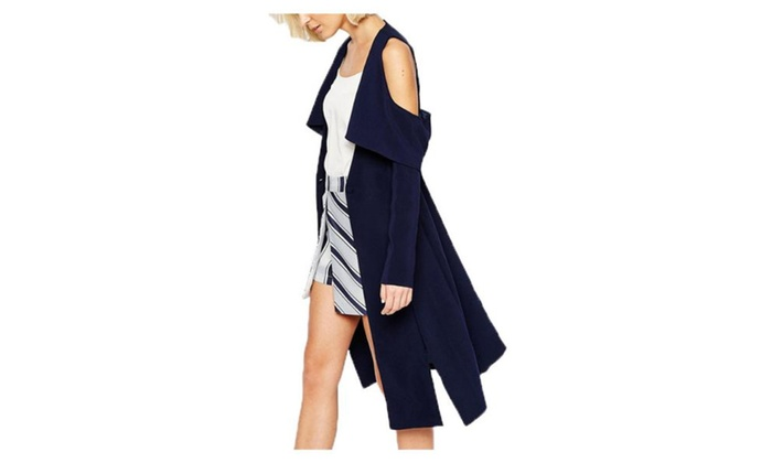 Women's Long Sleeve Open Front Casual Slim Fit Cardigan