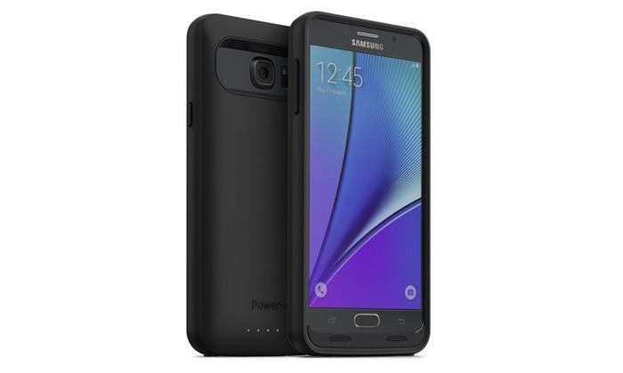 sale retailer 51808 d0f3d PowerBear Samsung Galaxy Note 5 Battery Case | Groupon