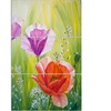 Poppies in the Morning - Floral Metal Wall Art
