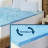 5-Zone Memory Foam Mattress Topper with Cooling Gel