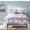 Honeyhome 100% cotton 3 Pieces LUXURY Bedding Set Peacock Printing Duv