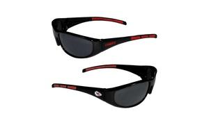 Sports Team Logo NFL Wrap 3 Dot Sunglasses