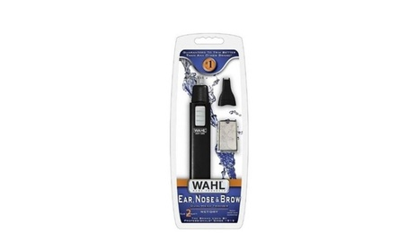 Wahl Ear, Nose - Brow Dual-Head Wet Dry Trimmer Personal Care