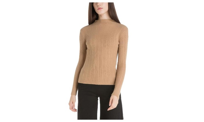 Women's Pullover Solid Straight Hem Fashion Pullovers