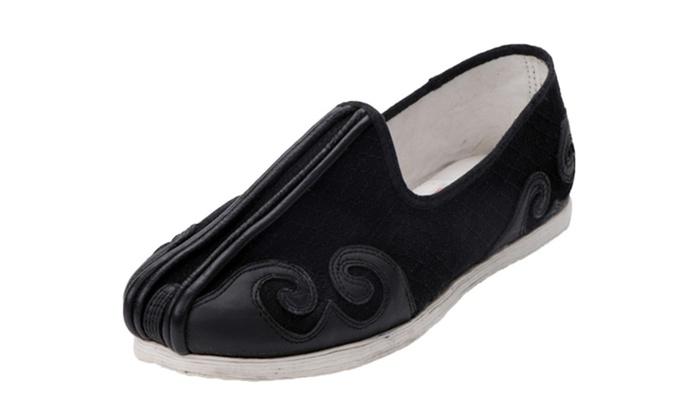 Men's Cotton Old Beijing Kung Fu Shoes
