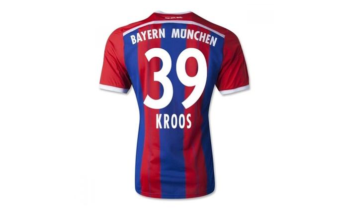 best service e0672 8c33d Bayern Munich Home Jersey 2014/2015 Kroos 39
