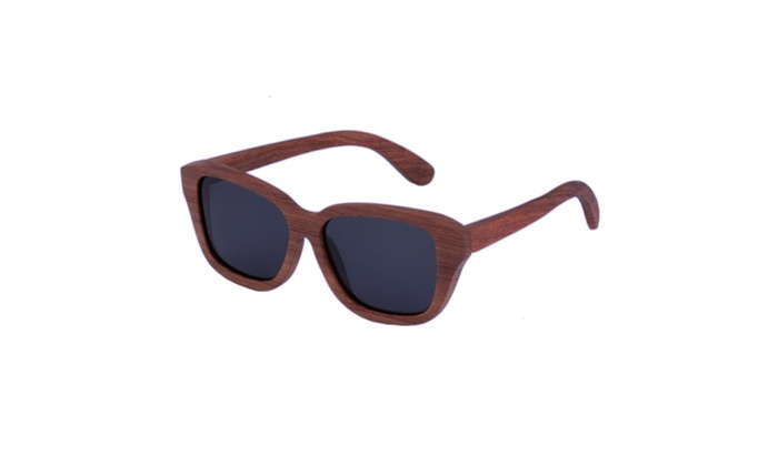 Wooden Sunglasses Handmade with Rose Wood: Ziba Wood- The Bosque