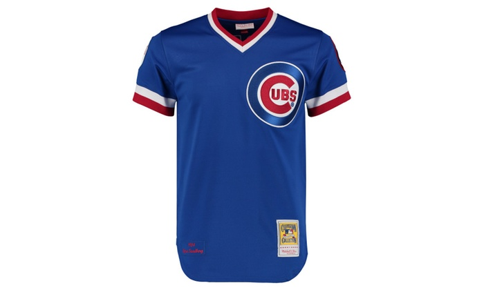best service 8711f b3026 Mens Chicago Cubs 1984 Ryne Sandberg Throwback Royal Jersey ...
