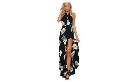 Women Summer Boho Long Maxi Evening Party Cocktail Beach Dress Floral 2f5343e4-68fb-4db3-b978-6f46c9b209b3
