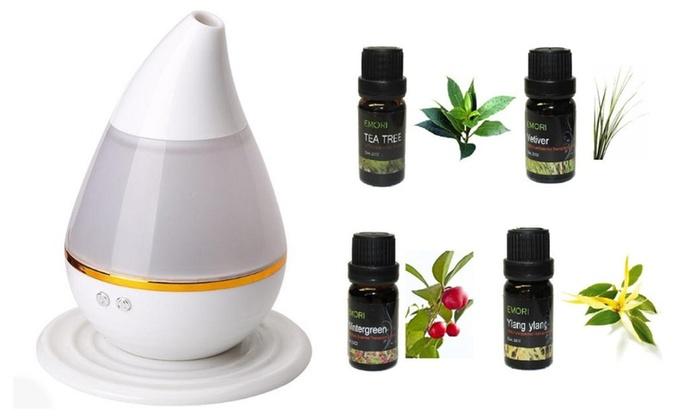 200ml Colorful Aroma Humidifier Diffuser Atomizer
