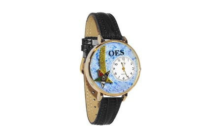 Order Of The Eastern Star Watch In Gold (Large) bf3ba910-14f5-493b-92e3-7e76589be25d