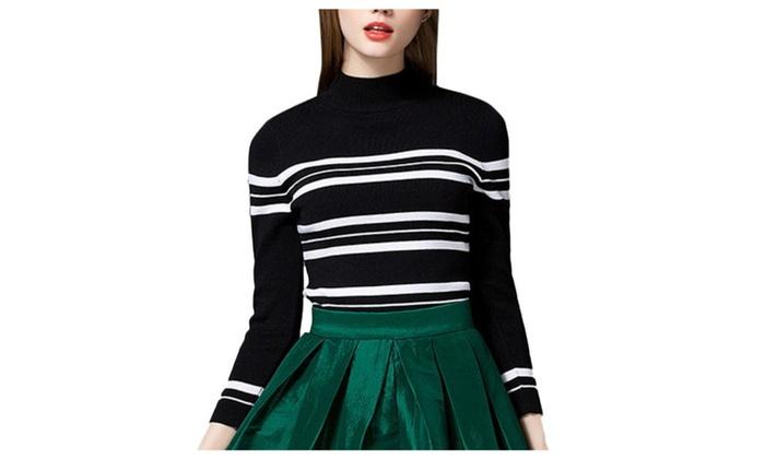 Women's Pullover Fashion Straight Hem Regular Fit Pullovers