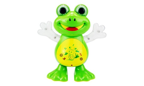 Dancing Frog Battery Operated Toy Figure 8741f4a7-8090-4ef8-9e15-48f0ff22ef8d