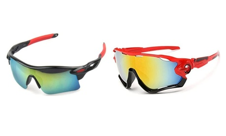 Cycling-styled UV400 protection Sunglasses