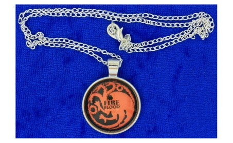 Fire and Blood Dragon Necklace Targaryen Game of Thrones 43666753-0086-4b05-8101-8b472e16c1da