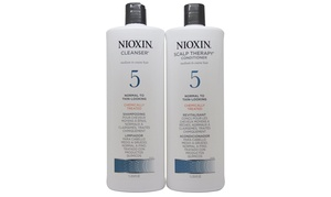 Nioxin System #5 33.8oz /1 Liter Duo