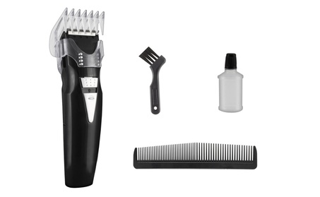 Hair Removal Men Trimmer Set Comb Brush Blade Oil 123017e9-73f7-4c25-9f91-babe9db76a3e