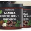 100% Natural Arabica Coffee Scrub -Coffee, Coconut & Shea Butter