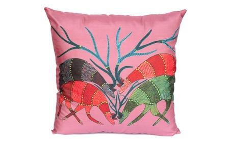 Cushion Covers Animal Print - Reindeer Throw Pillow Cover c63ceed4-6212-4503-a77a-96e59d9c023f