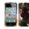 Insten Fire Snake Case For iPhone 4 4S