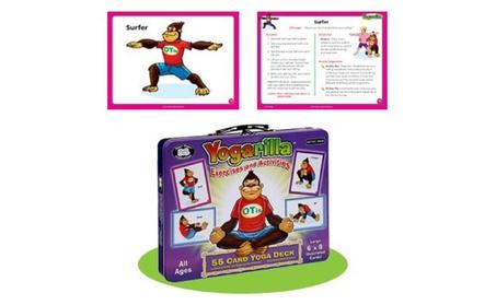 Yogarilla Exercises and Activities - Yoga Flash Card Deck 19ad9598-e986-49a9-857f-c2450e52a53a