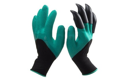 Garden Digging Gloves with 4 ABS Plastic Claws 06b8eb6d-cda5-4b47-bb4f-b8c4f379168c