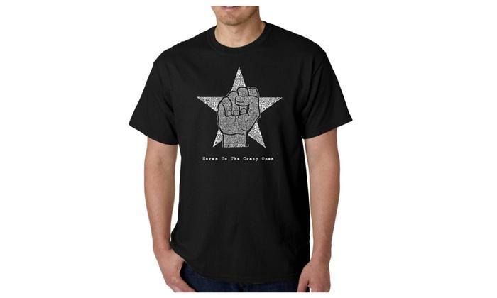 Men's T-shirt - Steve Jobs - Here's To The Crazy Ones