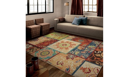 Patchland Area Rug Multiple Sizes Available Groupon
