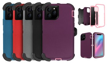 4-in-1 Slim Hybrid Duty Case With Waist Clip For iPhone 11/11 Pro/11 Pro Max