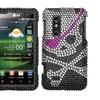 Insten Skull Diamante Case for LG: P925 (Thrill 4G)