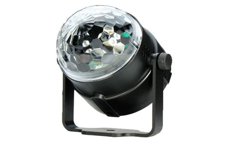 Rotating LED Crystal Ball laser Light Stage Light Disco Party + Remote df6145aa-4311-4473-9435-e7a5533c1b2c