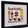 'Georges Richard Cycles & Automobiles' Matted Black Framed Art