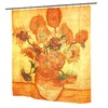 Carnation Home Fashions Sunflowers Fabric Shower Curtain Multi Color