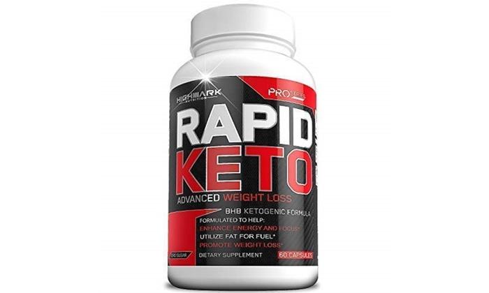 Rapid Keto Diet Pills Advanced Ketogenic Diet Weight Loss Supplement Bhb Salts