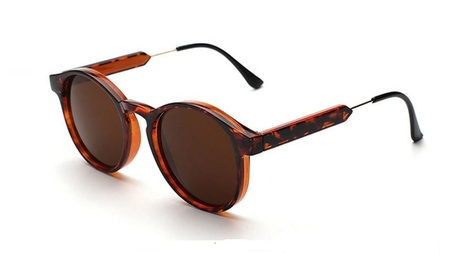 Retro Gafas Lents Oval Style Sunglasses
